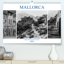 Mallorca – Impressionen in Schwarzweiß (Premium, hochwertiger DIN A2 Wandkalender 2020, Kunstdruck in Hochglanz) von Blome,  Dietmar