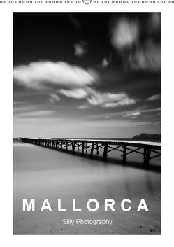 Mallorca in schwarz – weiss (Wandkalender 2019 DIN A2 hoch) von Photography,  Silly