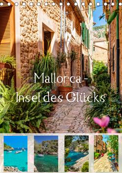 Mallorca – Insel des Glücks (Tischkalender 2019 DIN A5 hoch) von Seibertz,  Juergen