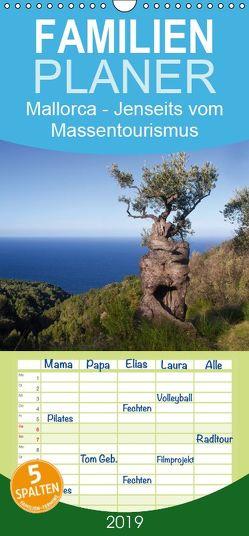 Mallorca – Jenseits vom Massentourismus – Familienplaner hoch (Wandkalender 2019 , 21 cm x 45 cm, hoch) von Voss,  Michael