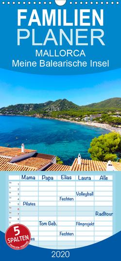 MALLORCA, Meine Balearische Insel – Familienplaner hoch (Wandkalender 2020 , 21 cm x 45 cm, hoch) von Dreegmeyer,  Andrea