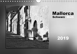 Mallorca Schwarz Weiß (Wandkalender 2019 DIN A4 quer) von Kolfenbach,  Klaus