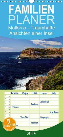 Mallorca – Traumhafte Ansichten einer Insel – Familienplaner hoch (Wandkalender 2019 , 21 cm x 45 cm, hoch) von Seibertz,  Juergen