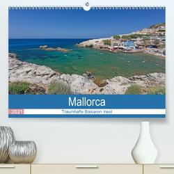 Mallorca – Traumhafte Balearen Insel (Premium, hochwertiger DIN A2 Wandkalender 2021, Kunstdruck in Hochglanz) von Potratz,  Andrea