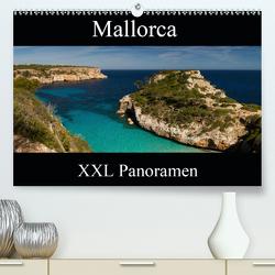 Mallorca – XXL Panoramen (Premium, hochwertiger DIN A2 Wandkalender 2021, Kunstdruck in Hochglanz) von Schonnop,  Juergen