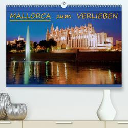 MALLORCA zum VERLIEBEN (Premium, hochwertiger DIN A2 Wandkalender 2021, Kunstdruck in Hochglanz) von Bonn,  BRASCHI