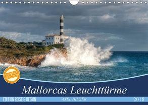 Mallorcas Leuchttürme (Wandkalender 2018 DIN A4 quer) von Hilger,  Axel