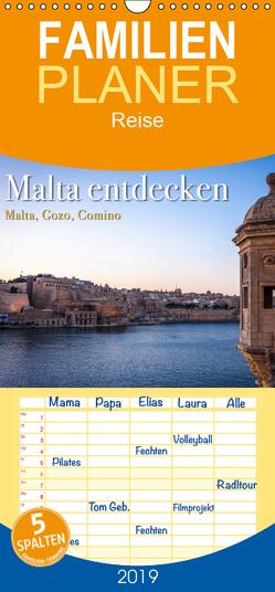 Malta entdecken Malta, Gozo, Comino – Familienplaner hoch (Wandkalender 2019 <strong>21 cm x 45 cm</strong> hoch) von Malms,  Emel