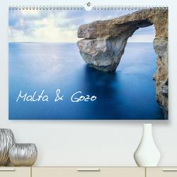 Malta & Gozo (Premium, hochwertiger DIN A2 Wandkalender 2021, Kunstdruck in Hochglanz) von Papenfuss,  Christoph