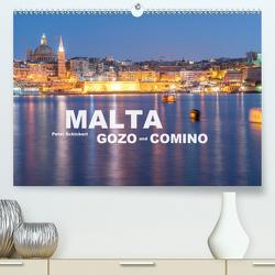 Malta – Gozo und Comino (Premium, hochwertiger DIN A2 Wandkalender 2021, Kunstdruck in Hochglanz) von Schickert,  Peter