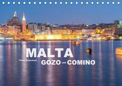 Malta – Gozo und Comino (Tischkalender 2018 DIN A5 quer) von Schickert,  Peter