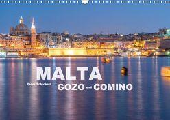 Malta – Gozo und Comino (Wandkalender 2018 DIN A3 quer) von Schickert,  Peter