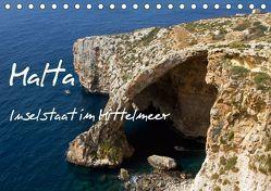 Malta – Inselstaat im Mittelmeer (Tischkalender 2019 DIN A5 quer) von Paszkowsky,  Ingo