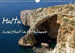 Malta – Inselstaat im Mittelmeer (Wandkalender 2018 DIN A4 quer) von Paszkowsky,  Ingo