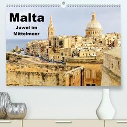 Malta – Juwel im Mittelmeer (Premium, hochwertiger DIN A2 Wandkalender 2021, Kunstdruck in Hochglanz) von Albilt,  Rabea