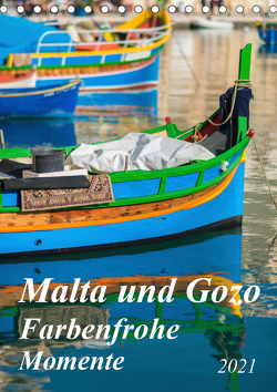 Malta und Gozo – Farbenfrohe Momente (Tischkalender 2021 DIN A5 hoch) von Waurick,  Kerstin