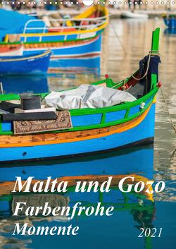 Malta und Gozo – Farbenfrohe Momente (Wandkalender 2021 DIN A3 hoch) von Waurick,  Kerstin
