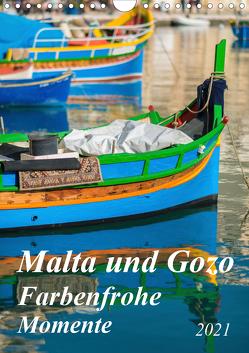 Malta und Gozo – Farbenfrohe Momente (Wandkalender 2021 DIN A4 hoch) von Waurick,  Kerstin