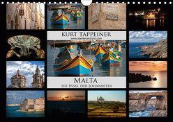 Malta (Wandkalender 2019 DIN A4 quer) von Tappeiner,  Kurt