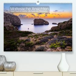 Maltesische Ansichten (Premium, hochwertiger DIN A2 Wandkalender 2021, Kunstdruck in Hochglanz) von Peters,  Reemt