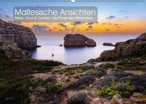 Maltesische Ansichten (Wandkalender 2018 DIN A2 quer) von Peters,  Reemt