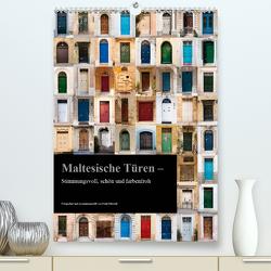 Maltesische Türen – Stimmungsvoll, schön und farbenfroh (Premium, hochwertiger DIN A2 Wandkalender 2021, Kunstdruck in Hochglanz) von Mitchell,  Frank