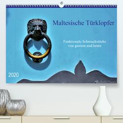 Maltesische Türklopfer (Premium, hochwertiger DIN A2 Wandkalender 2020, Kunstdruck in Hochglanz) von DieReiseEule