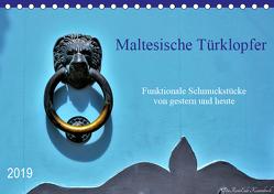 Maltesische Türklopfer (Tischkalender 2019 DIN A5 quer) von DieReiseEule