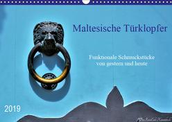 Maltesische Türklopfer (Wandkalender 2019 DIN A3 quer) von DieReiseEule