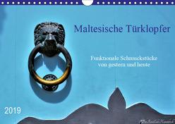 Maltesische Türklopfer (Wandkalender 2019 DIN A4 quer) von DieReiseEule