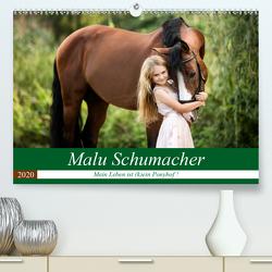 Malu Schumacher Mein Leben ist (k)ein Ponyhof !(Premium, hochwertiger DIN A2 Wandkalender 2020, Kunstdruck in Hochglanz) von Schumacher,  Sabine