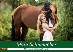 Malu Schumacher Mein Leben ist (k)ein Ponyhof ! (Wandkalender 2019 DIN A3 quer)
