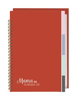 Mama AG Familienplaner Buch A5 – Kalender 2019 von Heye