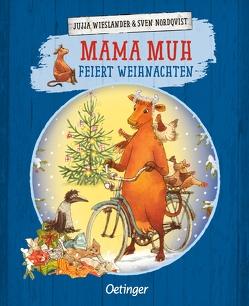 Mama Muh feiert Weihnachten von Kutsch,  Angelika, Nordqvist,  Sven, Wieslander,  Jujja