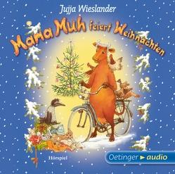 Mama Muh feiert Weihnachten (CD) von Blum,  Gabriele, Haase,  Matthias, Kutsch,  Angelika, Mika,  Rudi, Nordqvist,  Sven, Singer,  Theresia, Wanninger,  Biggi, Wieslander,  Jujja