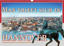 Man trifft sich in Hannover (Wandkalender 2020 DIN A3 quer) von Gödecke,  Dieter