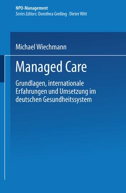 Managed Care von Wiechmann,  Michael