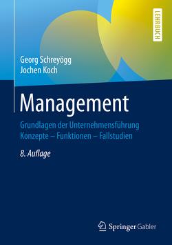 Management von Koch,  Jochen, Schreyoegg,  Georg