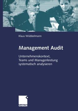 Management Audit von Wübbelmann,  Klaus
