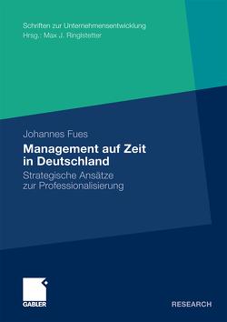Management auf Zeit in Deutschland von Fues,  Johannes