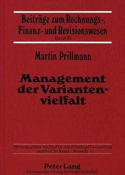 Management der Variantenvielfalt von Prillmann,  Martin