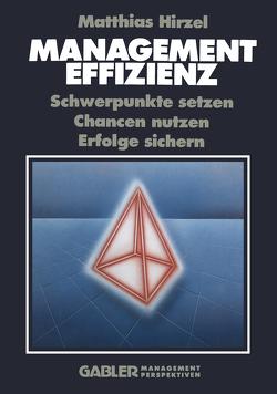 Management Effizienz von Hirzel,  Matthias