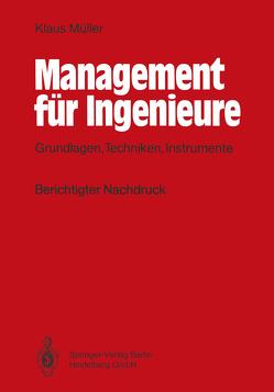 Management für Ingenieure von Mueller,  Klaus