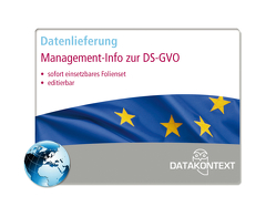 Management-Info zur Datenschutz-Grundverordnung (DS-GVO) von Müthlein,  Thomas