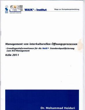 Management interkultureller Öffnungsprozesse