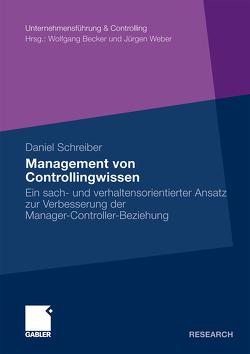 Management von Controllingwissen von Schreiber,  Daniel