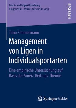 Management von Ligen in Individualsportarten von Zimmermann,  Timo