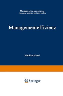 Managementeffizienz von Hirzel,  Matthias
