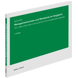 Managementnormen und Standards im Vergleich von Schmidt,  Dr. Anja
