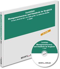 Managementnormen und Standards im Vergleich von Schmidt,  Dr. med. vet. Anja